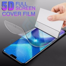 5D Full Cover Soft Hydrogel Film For Huawei P20 P30 Mate 20 Lite Pro Screen Protector Honor 10 9 Not Glass