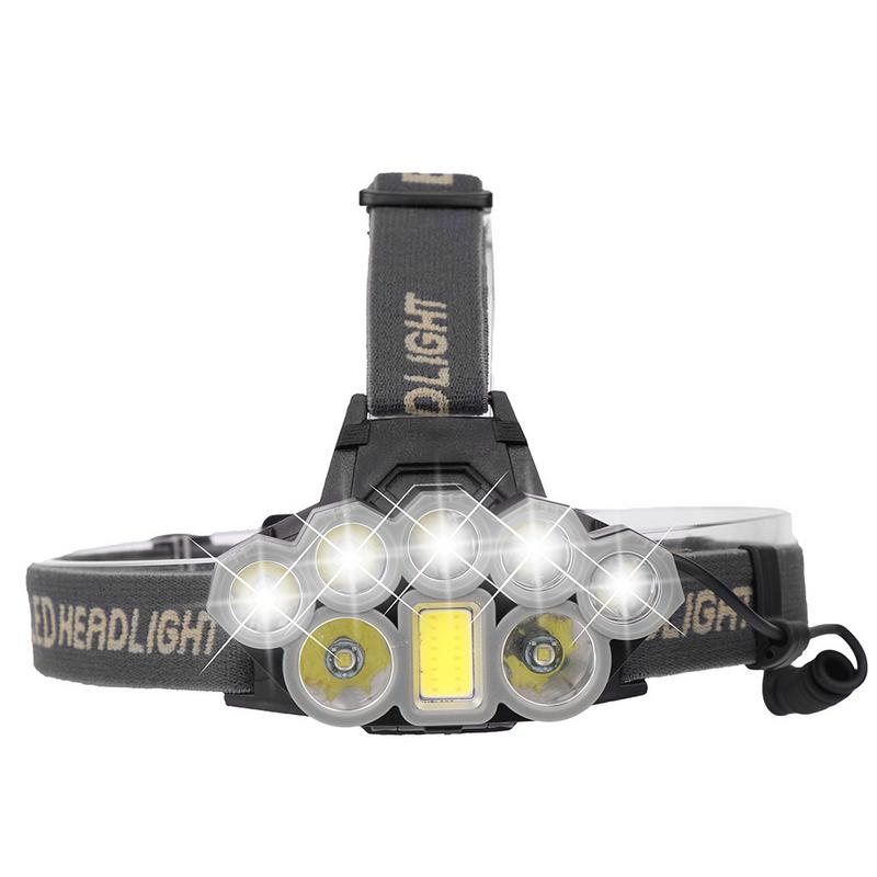 90000 Lumens XMLT6 8T6 LED Headlights USB Charging Headlights Long-range Fishing Headlights Outdoor Glaring Headlights Head Lamp90000 Lumens XMLT6 8T6 LED Headlights USB Charging Headlights Long-range Fishing Headlights Outdoor Glaring Headlights Head Lamp