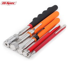 Hi-Spec 8LB Flexible Heavy Duty Telescopic Magnet Pick-up Tool Strong Magnet Magnetic Pen 510mm Extendable Hand Tool PT001 все цены