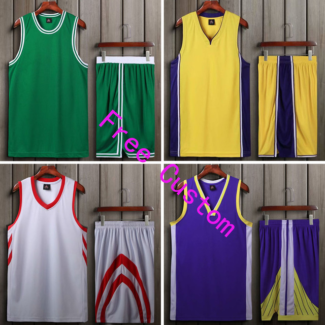 3caecc03efe2 18 19 New Men   Boy Jersey Basketball