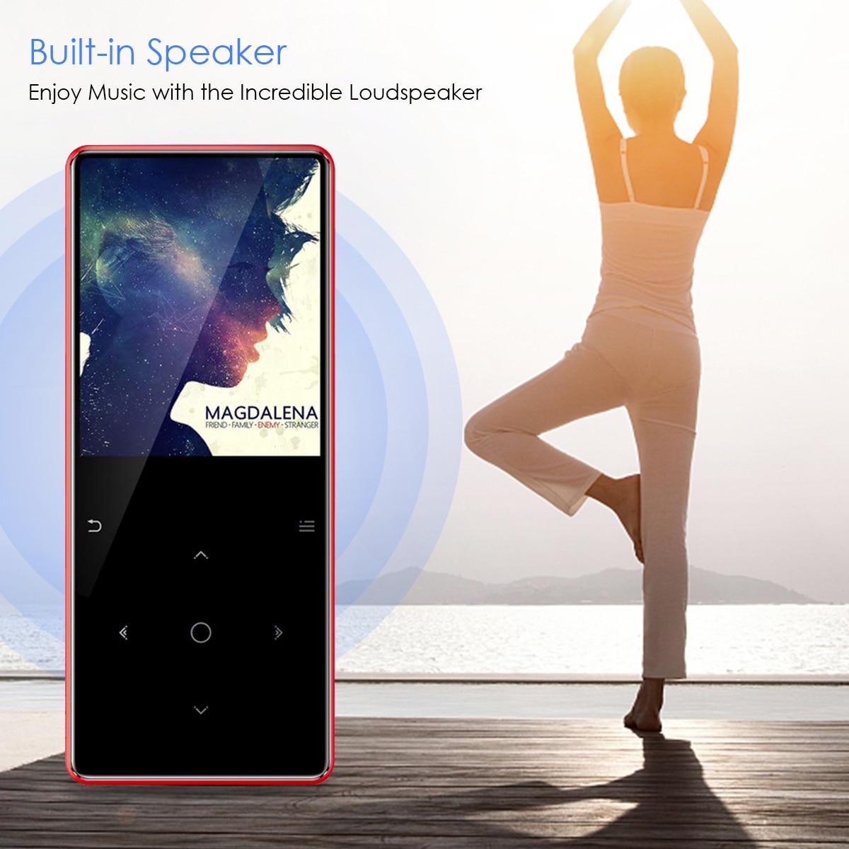 Lecteur MP3 Bluetooth de marque 8 GB lecteur multimédia de musique USB enregistreur vocal FM réveil E-book avec prise en charge casque carte TF - 6