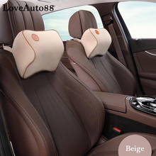 For nissan x trail t32 Car Neck Pillow Super Soft space Memory Foam Auto Seat Cover Head Neck Rest Cushion Headrest Pillow odontogenic head and neck space infections