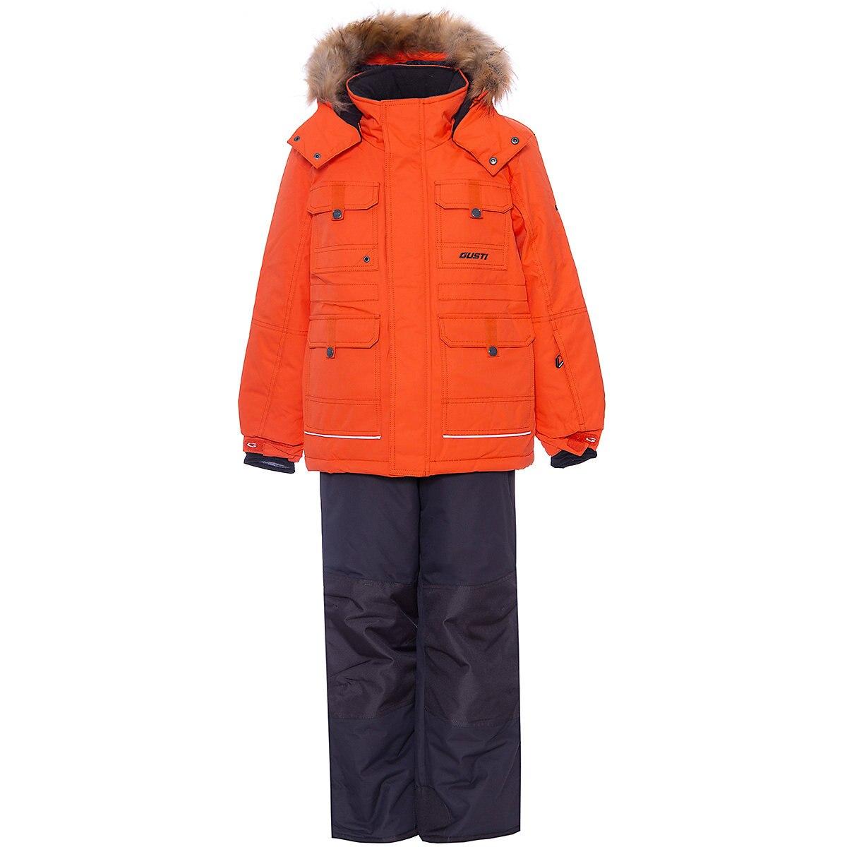 Gusti conjuntos de crianças 9512021 roupas para meninas conjunto vestido roupas de inverno menina crianças usar mtpromo