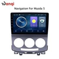 Android 8,1 автомобильный Радио dvd плеер для Mazda 5 2005 2010 GPS навигационная система ГЛОНАСС Аудио Видео SWC