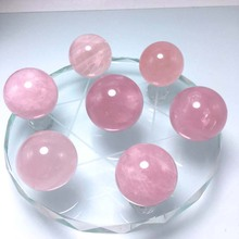 Natural  crystal ball seven star array Office home table decoration accessories Feng Shui ornaments craft gift