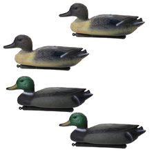 Perfeclan Lightweight Floating 14' Hunting Male Mallard Drake 3D Duck Decoy - 4 Pcs Duck Decoy Duck Hunting Decoy outdoor hunting duck decoy bag mesh backpack with shoulder straps drake goose storage net bag polyester mesh army green 100 x 75
