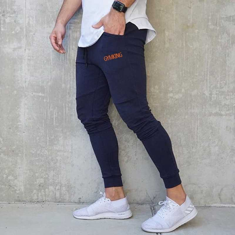 Mens Slim Fit deportes pantalones Jogging corriendo pantalones de chándal