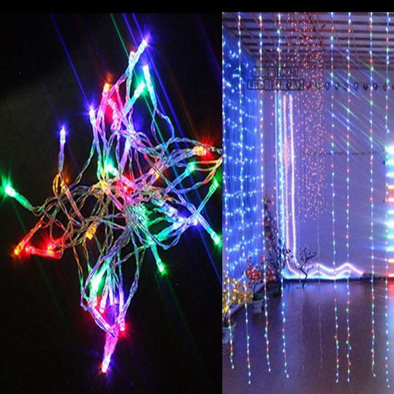 1 Piece Colorful 4m 40 Led String Fairy Party Festival Light Decor Lamp Bulb Aa Battery Powered (without Battery)