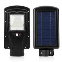60 LED Garden Solar Light 6V Waterproof IP65 Motion Sensor Street Solar Lamp Pathway Gate Yard Soalr Night Light lampe solaire