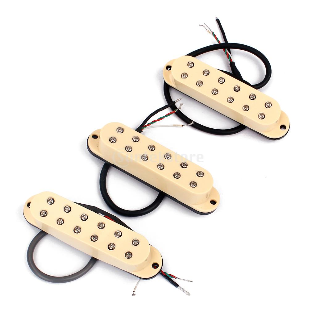 Set of 3 Pieces Neck Middle Bridge Humbucker Pickup for ST Electric Guitar