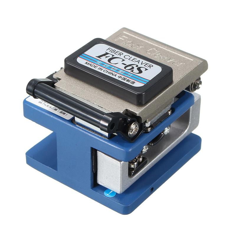 Material de Metal de FC-6S de fibra Cleaver conector óptico de fibra óptica Cleaver en FTTX FTTH envío gratis