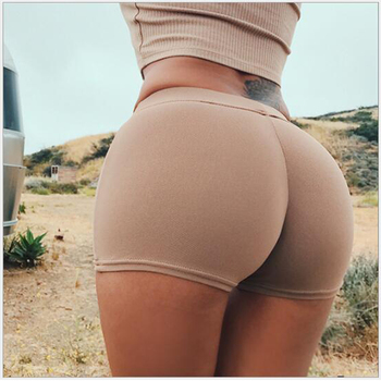 Summer New Women Sexy Shorts Ladies Casual Cotton Fashion Solid Color Black Red White High Waist