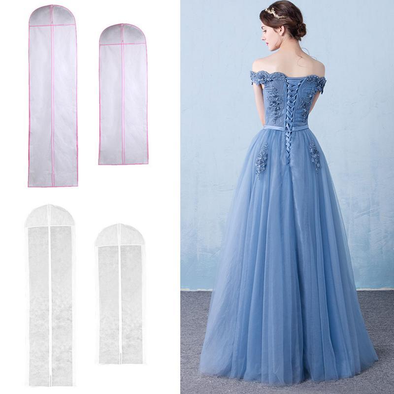 Wedding Gown Preservation Bag: 150CM/180CM Non Woven Fabric Wedding Dress Gown Dustproof