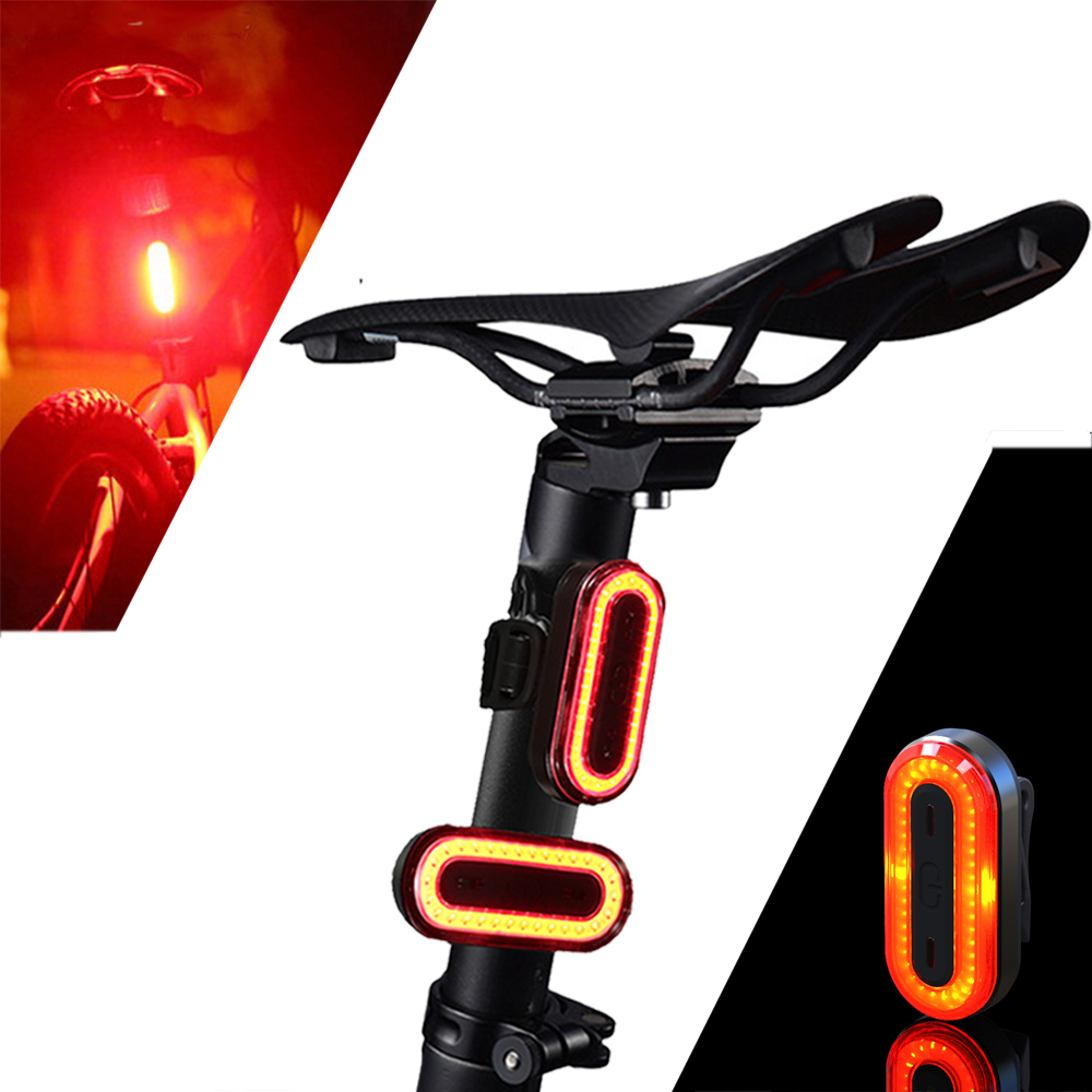 OUTERDO XANES STL03 100LM IPX8 Memory Bicycle Taillight 6 Modes Warning LED USB Charging 360 Rotation Bike Light Accessory|Bicycle Light| |  -