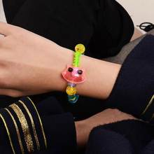 XIUFEN Children Bracelet DIY Cute Shape-shifting Magic Animal Design Bracelet For Girls(China)