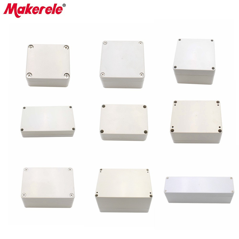 M1 Series Small Waterproof Junction Boxes Outdoor Electrical Enclosure Case Wiring Connection Box 1 Piece Free Shipping