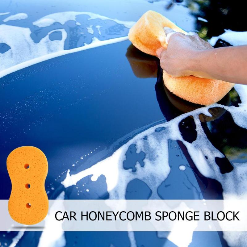 Conscientious 1pc Car Wash Sponge 3 Holes Coral Sponge Macroporous Car Auto Washing Cleaning Sponge Block Honeycomb Car Bicycle Cleaning Cloth Finely Processed Household Cleaning