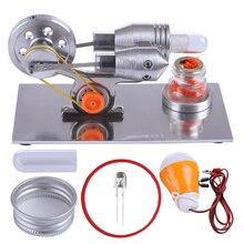 Kit de modelo de motor Stirling DIY de la Boutique lámpara de la ciencia de la Física