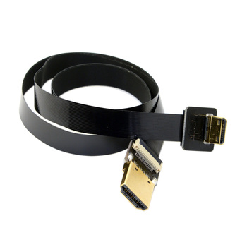 10pcs/lot  Mini HDMI Male to HDMI Male CYFPV FPV FPC Flat Cable 50cm 20cm for FPV HDTV Multicopter Aerial Photography