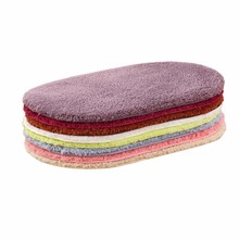 цена на Modern Solid Fluffy Doormat Polar Fleece Pure Color Non-slip Toilet Rugs Thickening Outdoor Kitchen Mat Home Decor Carpet tapete