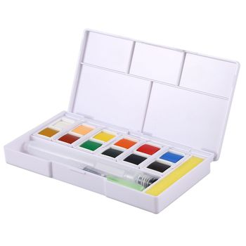 üstün Pigment Katı Suluboya Boyalar Seti Renkli çizim Için Boya