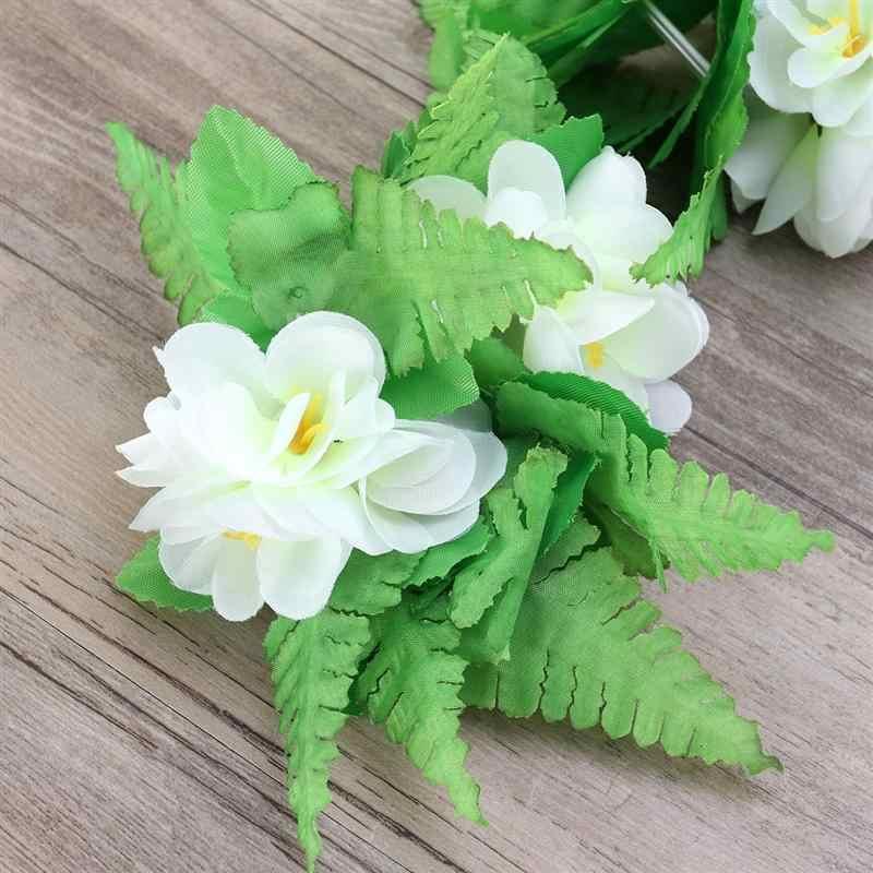 2 шт Prop красивое зеленое декоративное перо танец браслет Гавайи браслет представление цветок для девочка женщина дама