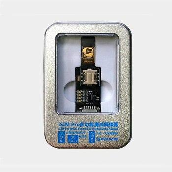 3in1 SIM WiFi Desbloquear Adaptador de Rede de Teste Três iSIM Pro Cartão de Testador de Rede Universal de Multi-função Nenhuma Ativação para iPhone