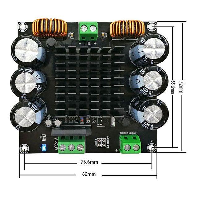 XH-M253 TDA8954TH Core BTL Mode HIFI Class 420W High Power Mono Digital Amplifier Board D3-003