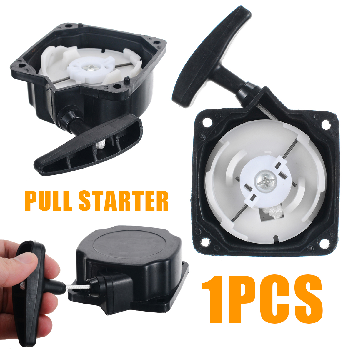 Universal Recoil Pull Starter For Brush Cutter Strimmer Lawn Mower Parts Garden Tools