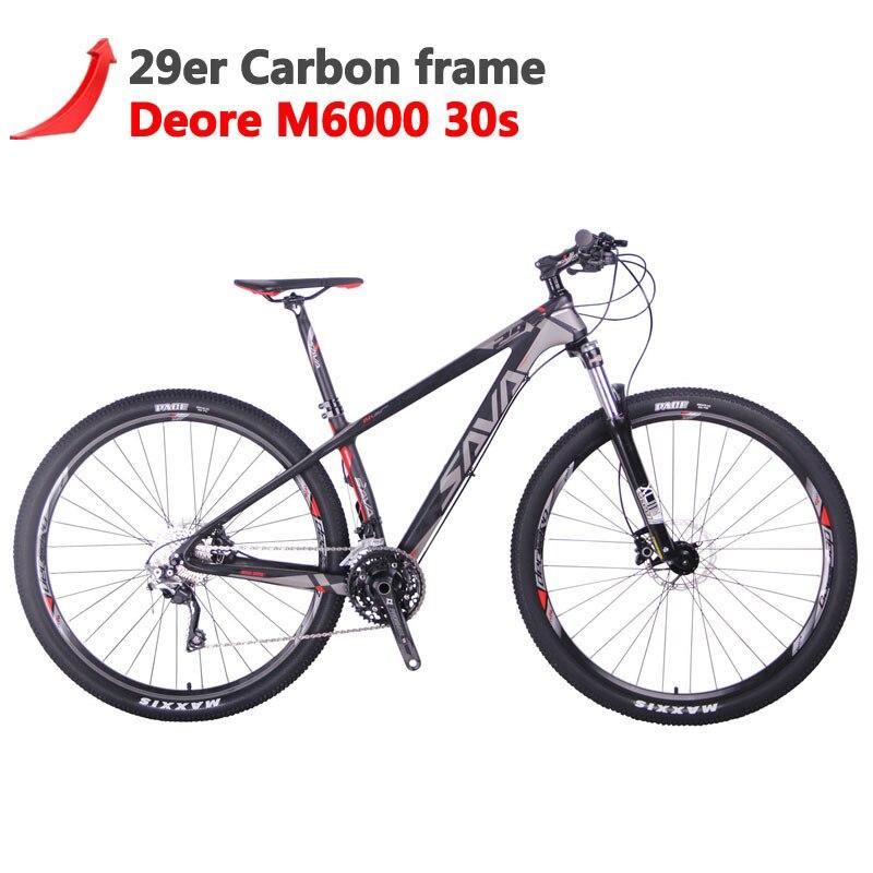 Sava VTT 29 Vtt Carbone VTT 29 Deck300 Vtt Vélo Vélos De Montagne Bicicleta Mbt Bicicleta De Montana
