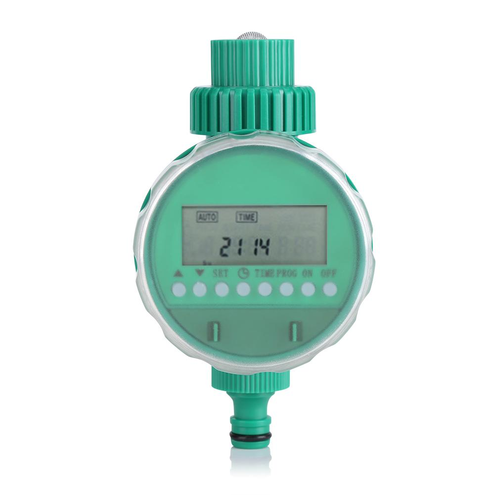 1pc Intelligent Garden Watering Timer Automatic Water Saving Irrigation Controller LCD Digital Watering Timer Garden Irrigating(China)