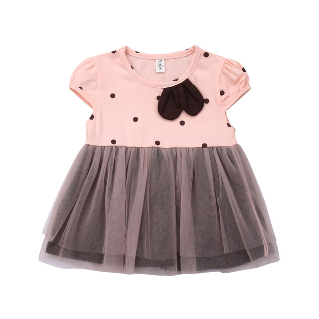 3eb33e4e1 Emmababy New Brand Toddler Kids Baby Girls Princess Dress Pageant Party  Wedding Tutu Dressy Clothes