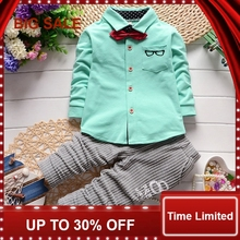 autumn Children baby boys girls clothing sets tracksuit 2PCS cotton suit cartoon t-shirt+pants kids clothes sets