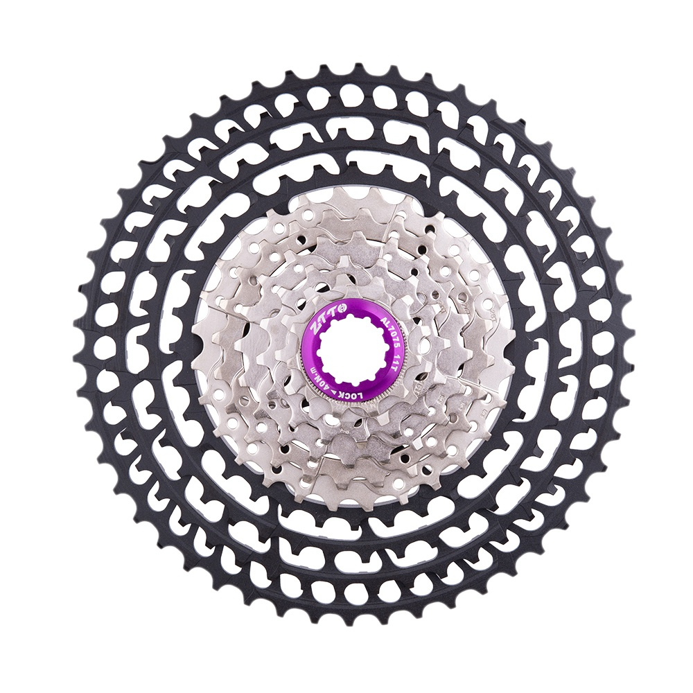Ztto Mtb 10 Speed 11-50T Slr2 Ultralight Cassette For M7000 M6000 10S 50T K7 360G Cnc Freewheel Bicycle SprocketsZtto Mtb 10 Speed 11-50T Slr2 Ultralight Cassette For M7000 M6000 10S 50T K7 360G Cnc Freewheel Bicycle Sprockets