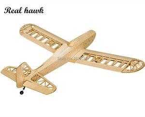 Image 2 - RC เครื่องบินเลเซอร์ตัดไม้ Balsa เครื่องบิน Astro Junior กรอบไม่มีฝาครอบ Wingspan 1380mm ไม้ Balsa ชุดอาคารชุด