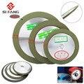 Расширенный алмазный шлифовальный круг 4 ''/5''/6 '', режущий диск, шлифовальный станок, точилка, карбид, металл, вольфрам, сталь, фреза