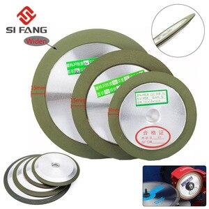 Widen Diamond Grinding Wheel 4''/5''/6'' Cutting Disc Resin Bond Grinder Sharpener Carbide Metal Tungsten Steel Milling Cutter(China)