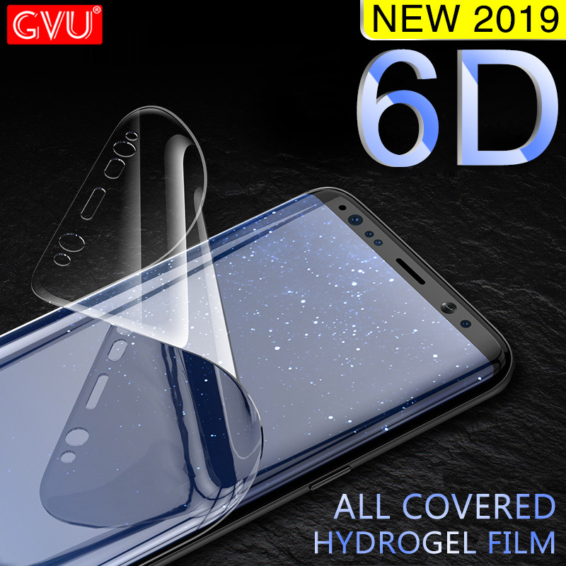 Protective-Film Screen-Protector Hydrogel S6-Edge Full-Cover Soft Note 8 S9-Plus Samsung S9