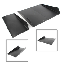 22 x 21 ABS Rear Bumper 4 Fins Diffuser For BMW F10 F30 F32 F36 F80 M3 F82 M4 Accessories