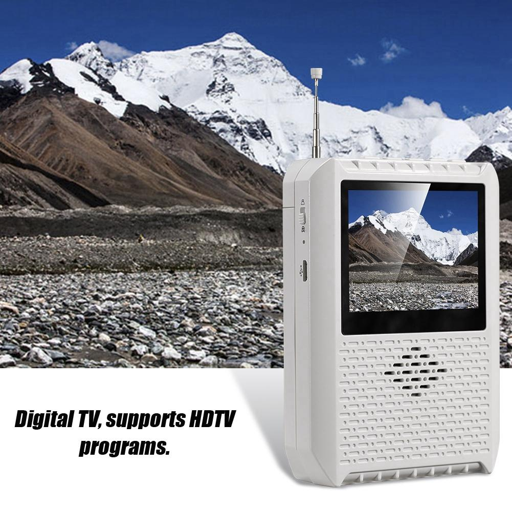 2 8 LCD Screen Japanese Signal Dedicated ISDB T Handheld Mini TV Television
