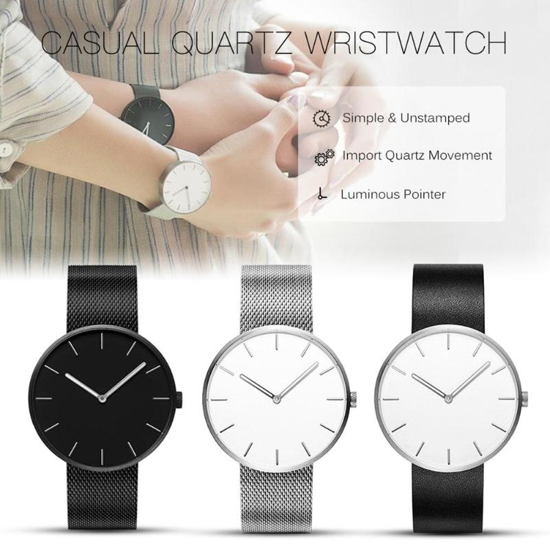 Couple Watch Clock Gift Quartz Women Lover's Fashion Girls Boys