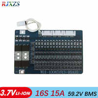 16S 15A li-ion 67.2V BMS PCM battery protection board bms pcm for electric bike battery cell pack