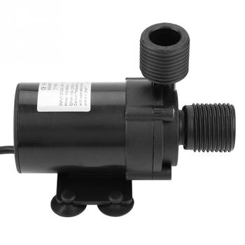 24V Flow 750L/H 12000rpm  Mini DC Brushless Water Pump Low Noise Submersible Pump for Solar Water Heater JT-660B-24