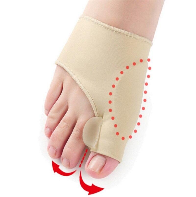 Newest Hallux Valgus Correction Braces Big Toe Separators Orthopedic Bunion Corrector Socks Toes Separator Calcetines Mujer in Socks from Underwear Sleepwears