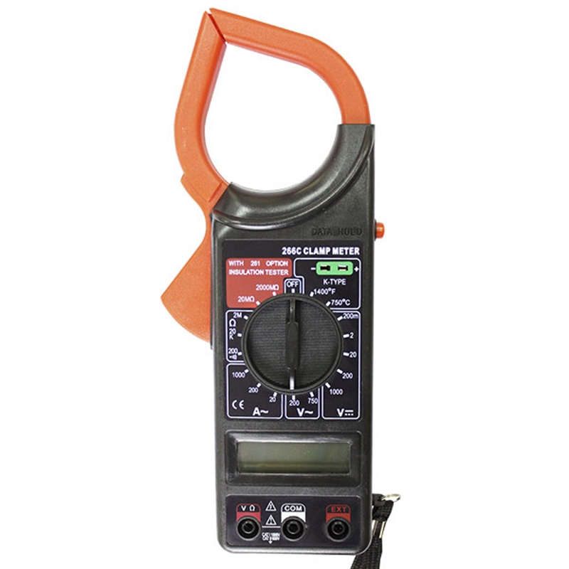 Clamp Resanta DT 266C токовые клещи ресанта dt 266c