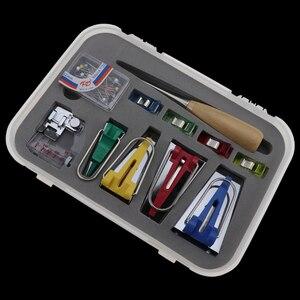 Image 2 - מכונת כלים מחייב לתפור תפירה תכליתית הטיה קלטת יצרנית סט DIY טלאים Quilting כלי