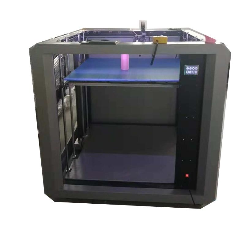 Stampante 3D grande imprimante 3D Drucker cadre en métal double extrudeuse PLA ABS TPU 3D impression bricolage Machine Impresora Nozzel Hotbed nouveau