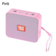 Portable Mini Speaker Innovative Square Wireless Bluetooth Card TG166 Support Micro TF Card Player Stereo Hd Bass Sounds Devices