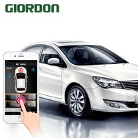 Smart phone manual control car auto parts mobile phone remote start one key start anti theft system, with the engine hidden lock