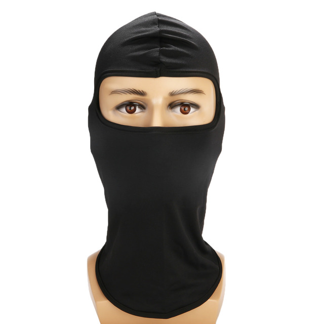 Ultra-thin Motorcycle Lycra Balaclava Ski Full Face Mask Cycling Neck Protect Wear Accessories 2